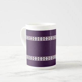 Ciruelos púrpuras taza de china