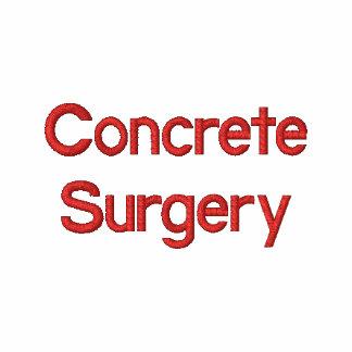 Cirugía concreta camiseta polo bordada