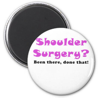Cirugía del hombro allí hecho eso imán redondo 5 cm