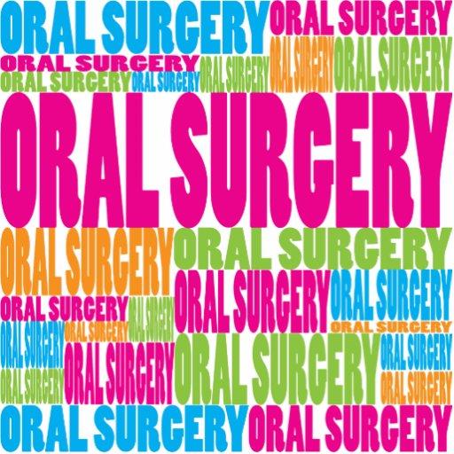 Cirugía oral colorida esculturas fotograficas
