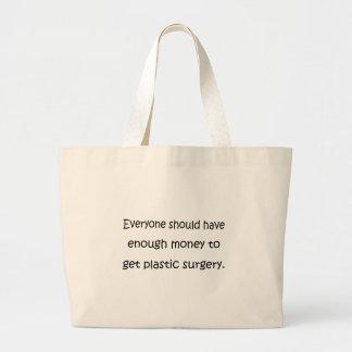 Cirugía plástica bolsas de mano