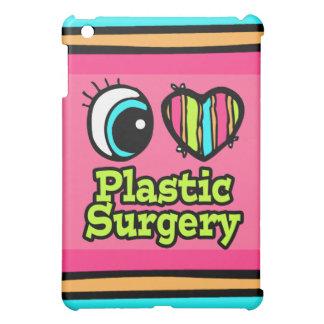 Cirugía plástica del ojo del amor brillante del co