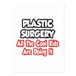 Cirugía plástica… todos los niños frescos postales