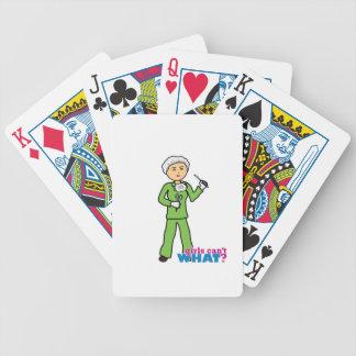 Cirujano 2 barajas de cartas