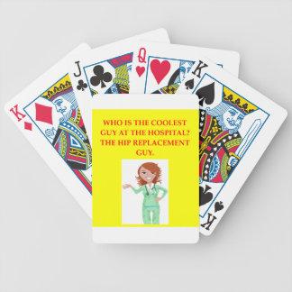 cirujano cartas de juego