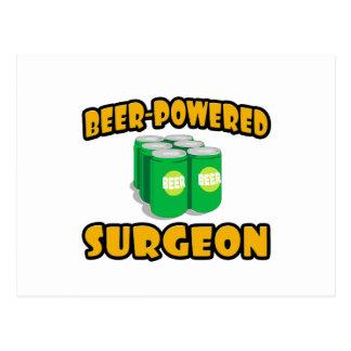 Cirujano Cerveza-Accionado Postales