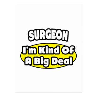 Cirujano = clase de una gran cosa tarjetas postales