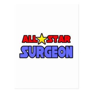 Cirujano de All Star Tarjeta Postal