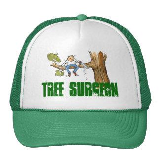 cirujano de árbol gorras de camionero