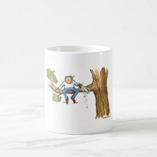 Cirujano de árbol taza de café