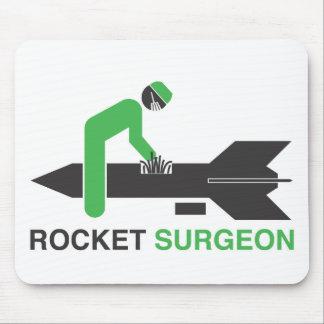 Cirujano de Rocket Alfombrillas De Ratón