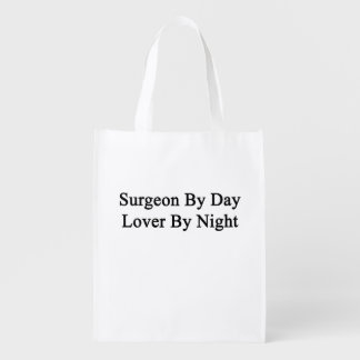 Cirujano del amante del día por noche bolsas de la compra
