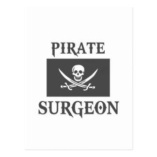 Cirujano del pirata postal