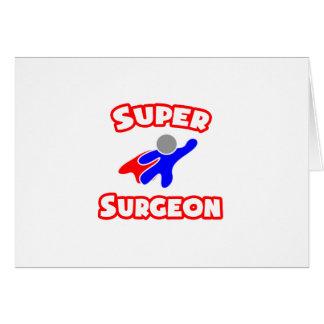 Cirujano estupendo felicitaciones