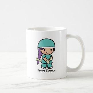 Cirujano futuro - chica taza
