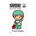Cirujano futuro - muchacho sello