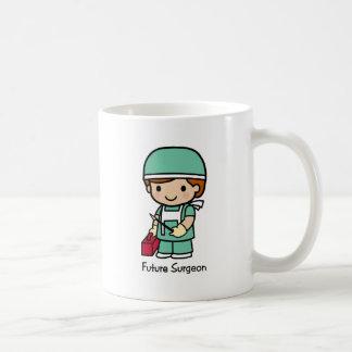 Cirujano futuro - muchacho taza