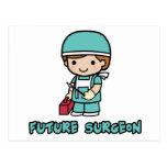 Cirujano (muchacho) postales