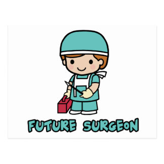 Cirujano muchacho postales