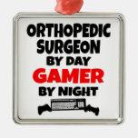 Cirujano ortopédico del videojugador adorno para reyes