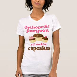 Cirujano ortopédico divertido camisas