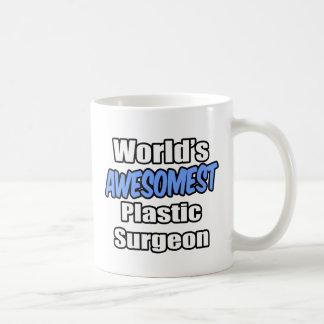 Cirujano plástico de Awesomest del mundo Taza De Café