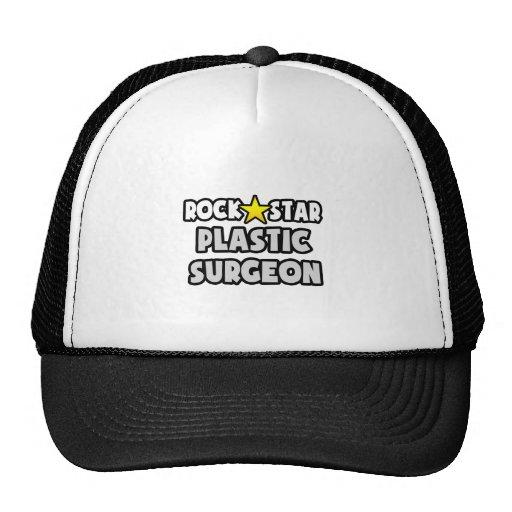 Cirujano plástico de la estrella del rock gorros