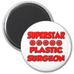 Cirujano plástico de la superestrella imanes para frigoríficos