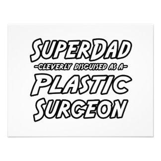 Cirujano plástico de SuperDad… Invitacion Personal