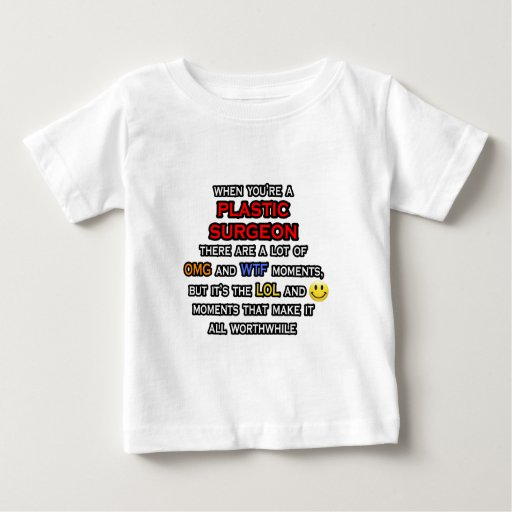 Cirujano plástico divertido… OMG WTF LOL Tshirts