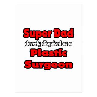Cirujano plástico estupendo del papá… postales