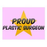 Cirujano plástico orgulloso tarjetas postales