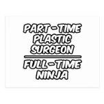 Cirujano plástico por horas… a tiempo completo Nin Postales