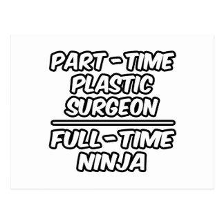 Cirujano plástico por horas… a tiempo completo Nin Tarjetas Postales