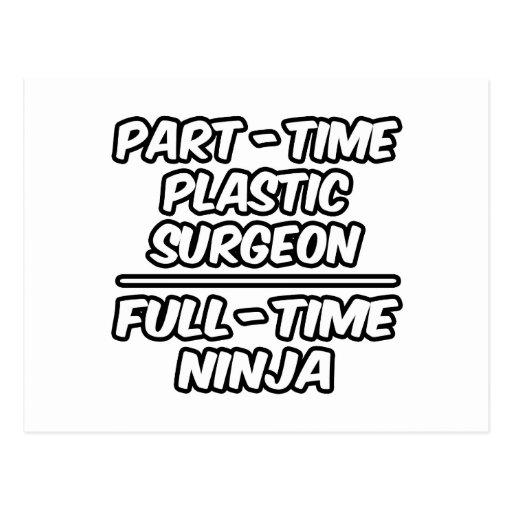 Cirujano plástico por horas… a tiempo completo tarjetas postales