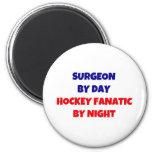 Cirujano por el hockey Fantic del día por noche Iman De Nevera