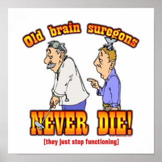 Cirujanos de cerebro posters