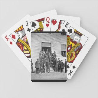 Cirujanos de la imagen de Harewood_War Baraja De Póquer