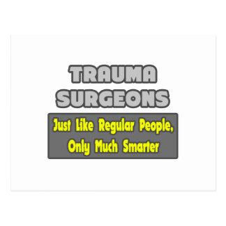 Cirujanos del trauma… más elegantes postal