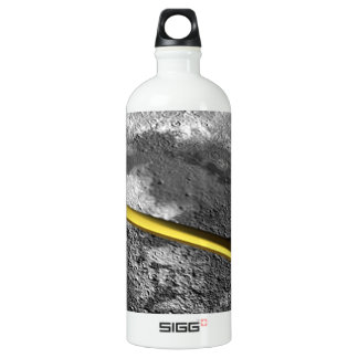 Cis Lunar Space Aluminum Water Bottle
