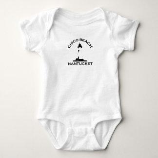 "Cisco Beach ""Lighthouse"" Design. Tshirt"