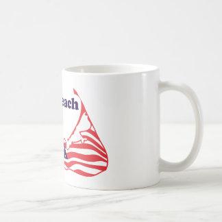 """Cisco Beach """"Surf"""" Design. Coffee Mug"""