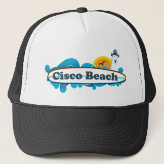 "Cisco Beach ""Surf"" Design. Trucker Hat"