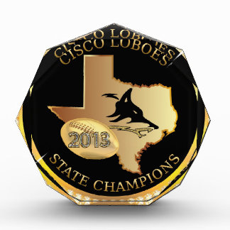 Cisco Loboes State Champs Award