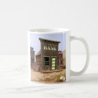 Cisjordania viejo (color) taza básica blanca