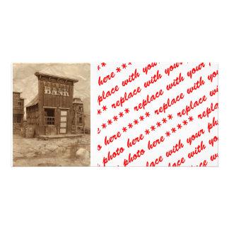 Cisjordania viejo tarjetas fotograficas
