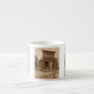 Cisjordania viejo taza espresso