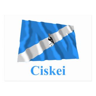 Ciskei Waving Flag with Name Post Card