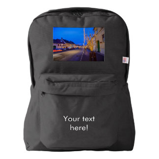 Cisnadie Christmas decorations American Apparel™ Backpack