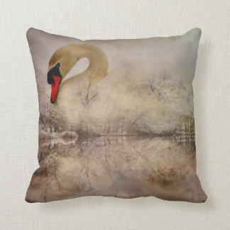 Cisne a la deriva cojin